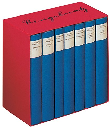 9783257060409: Ringelnatz. Das Gesamtwerk in sieben Bänden.