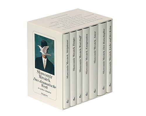 9783257063004: Das dramatische Werk in sieben Bänden: Enthält: Striptease / Tango / Watzlaff / Emigranten / Der Botschafter / Amor / Liebe auf der Krim - und andere Stücke