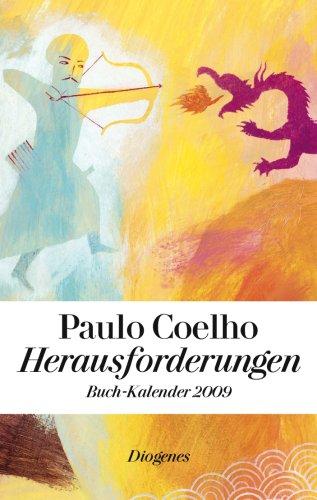 9783257066357: Herausforderungen - Buch-Kalender 2009