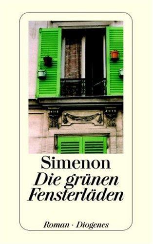9783257203738: Die grünen Fensterläden