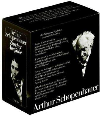 Zürcher Ausgabe (detebe - Kassetten) Hübscher, Arthur;: Schopenhauer, Arthur