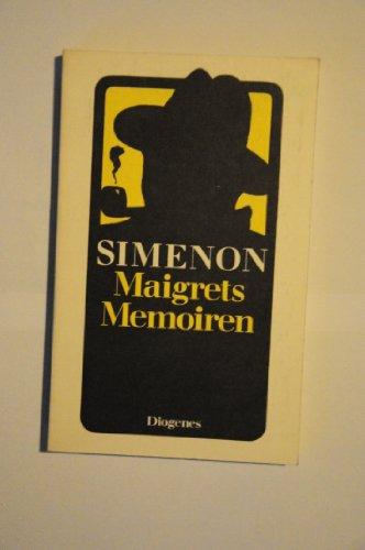 9783257205077: Maigrets Memoiren (Nr.155/7)