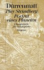 9783257208429: Play Strindberg/Portrat Eines Planeten: vol 12 (German Edition)