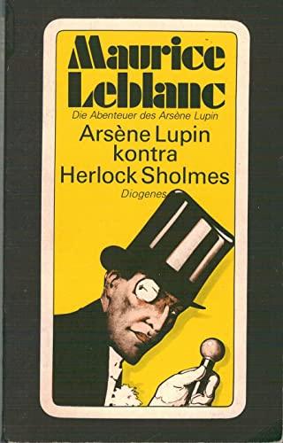 9783257210262: Arsène Lupin kontra Herlock Sholmes. Roman