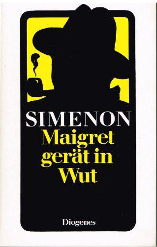 9783257211139: Maigret gerät in Wut. Roman