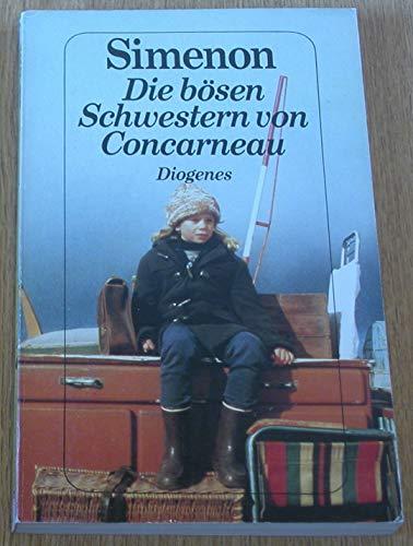 9783257215595: Die bösen Schwestern von Concarneau. Roman