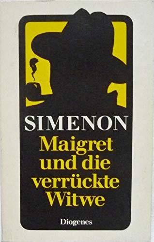 9783257216806: Maigret und die verrückte Witwe. Roman