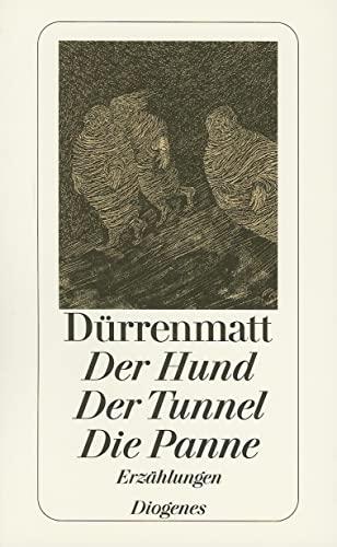 9783257230611: Der Hund/Der Tunnel/Die Panne
