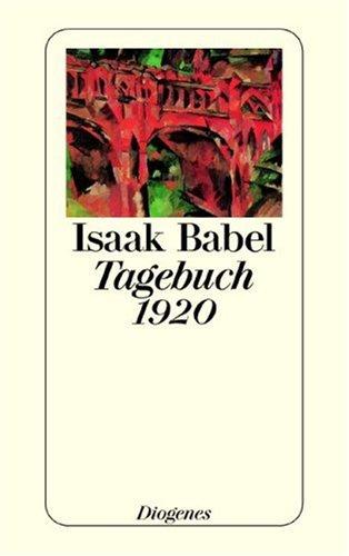 9783257230918: Tagebuch 1920.