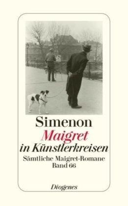 9783257238662: Maigret in Künstlerkreisen