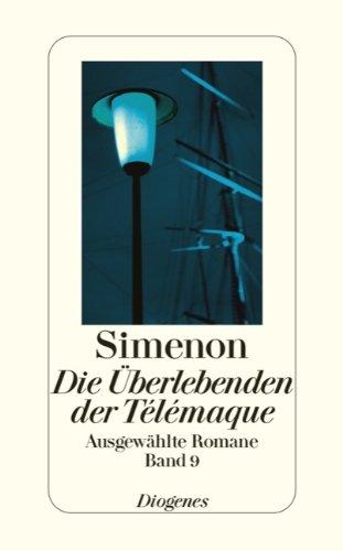 9783257241099: Die Überlebenden der Télémaque: Ausgewählte Romane 9