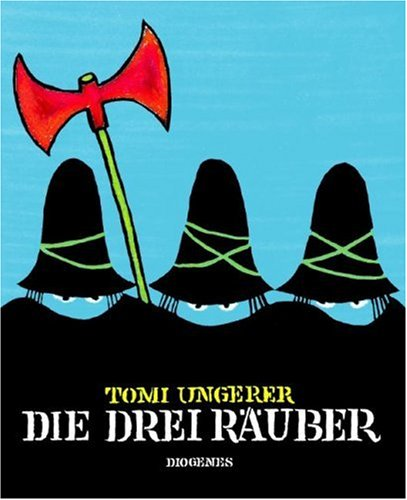 9783257250077: Die Drei Rauber (German Edition)
