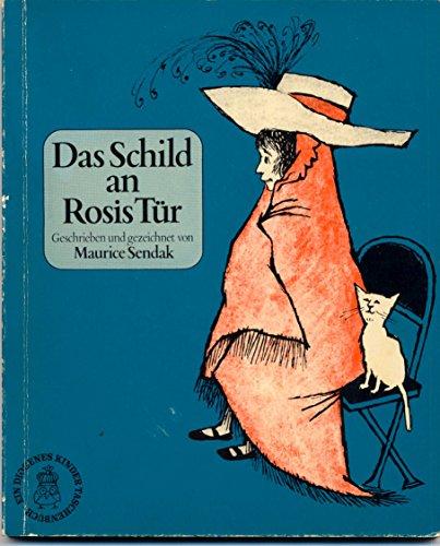 Das Schild an Rosis Tür. Deutsch von: Sendak, Maurice: