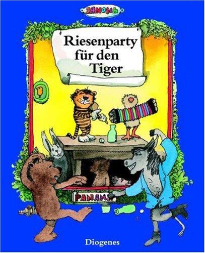 9783257251081: Riesenparty für den Tiger