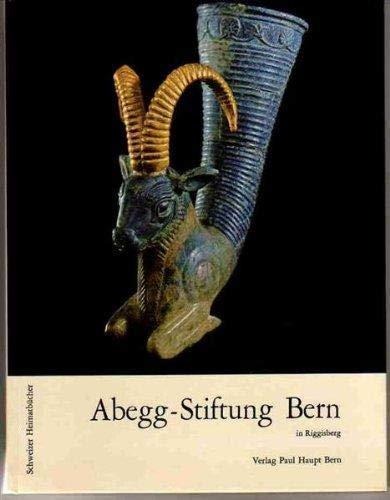 Abegg-Stiftung Bern in Riggisberg. TOME 1: STETTLER Michael.