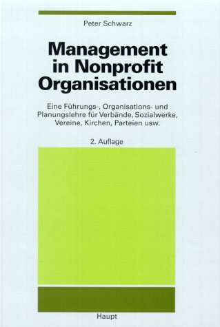 9783258052120: Management in Nonprofit Organisationen.