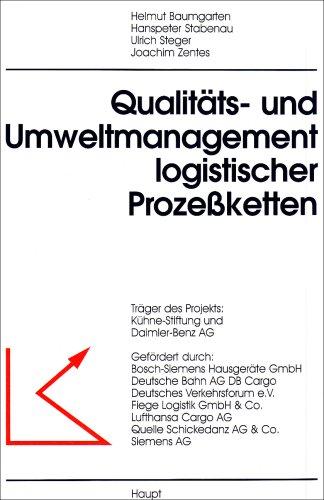9783258058962: Qualit�ts- und Umweltmanagement logistischer Proze�ketten