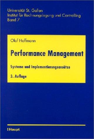 9783258061054: Performance Management: Systeme und Implementierungsansätze