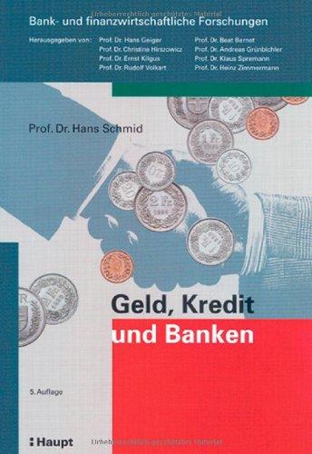 9783258063942: Geld, Kredit und Banken