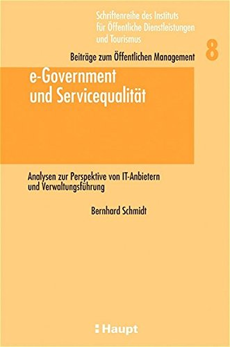 9783258066172: e-Government und Servicequalität.