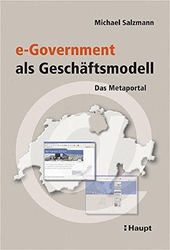 9783258068206: e-Government als Gesch�ftsmodell