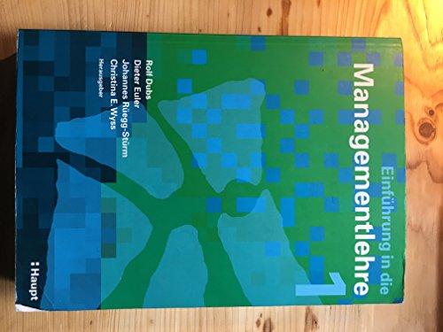 9783258069999: Einführung in die Managementlehre. 5 Bände im Schuber: 5 Bdn.