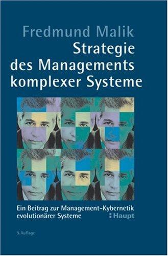 Strategie des Managements komplexer Systeme: Ein Beitrag