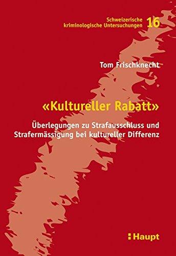 Kultureller Rabatt: Tom Frischknecht