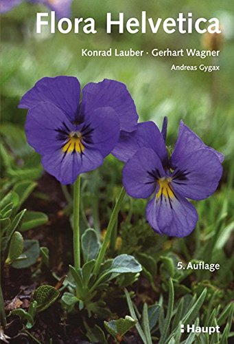 9783258077000: Flora Helvetica