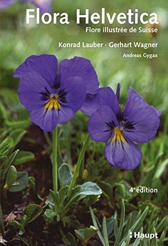 9783258077017: Flora Helvetica - Flore illustrée de Suisse + Supplément Clef de détermination de la Flora Helvetica