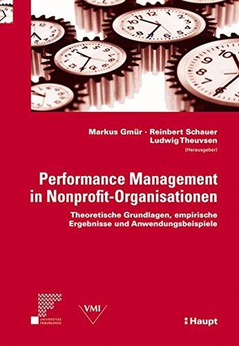 9783258077710: Performance Management in Nonprofit-Organisationen