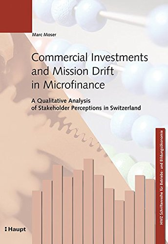 Commercial Investments and Mission Drift in Microfinance: Marc Moser