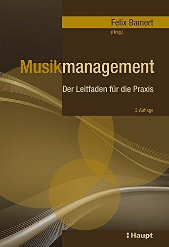 Musikmanagement: Felix Bamert