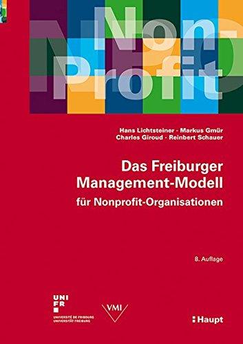 9783258079264: Lichtsteiner, H: Freiburger Management-Modell für Nonprofit-