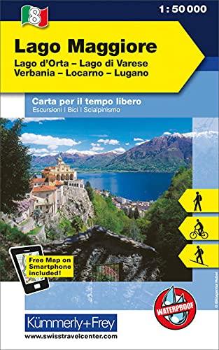 Verbania Lago Maggiore Karte.9783259007075 Lago Maggiore Lago D Orta Lago Di Varese Verbania