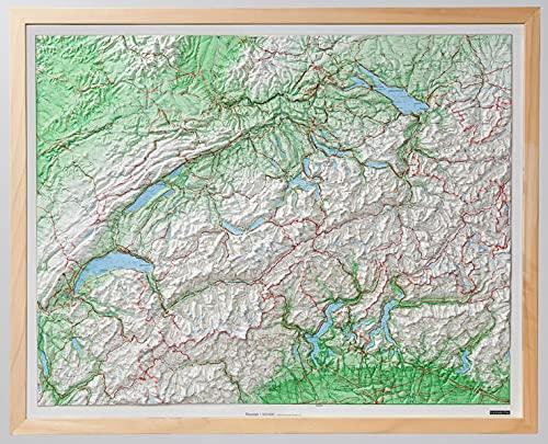 9783259010211: Wooden Framed Switzerland
