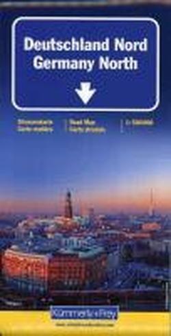 9783259010747: K+F Deutschland Straßenkarte Nord 1 : 500 000: Mit Sehenswürdigkeiten und Ortsindex, wasserfest:, Natur- und Nationalparks,: Sehenswürdigkeiten, Natur- und Nationalparks, Ortsindex