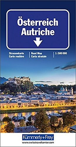 9783259011164: Autriche. 1/500 000: Indexed (International Road Map)
