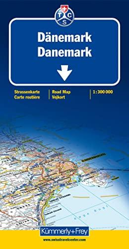 Kümmerly & Frey Karten, Dänemark (Maßstab 1:300.000) - Kümmerly, + Frey