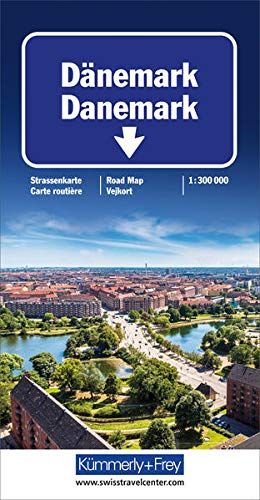 9783259011454: Denmark: KF.DK (International Road Map) (Danish, English, French and German Edition)