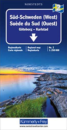 9783259012628: Southern Sweden: Goteborg, Torsby, Ludvika (Regional Maps - Sweden)