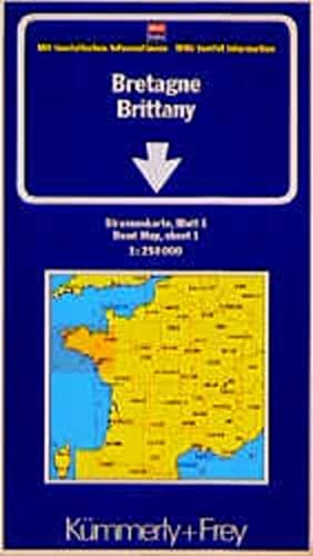 Brittany Road Map
