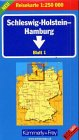 9783259013380: SLEESWIJK, HOLSTEIN, HAMBURG/SLESVIG, HOLSTEIN N°1 (Germany - Regional maps)