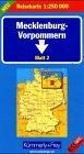 9783259013397: Mecklenburg-Vorpommern Blatt 2 (Regional Maps - Germany)