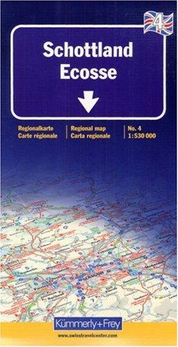 9783259013588: Kümmerly & Frey Karten, Schottland