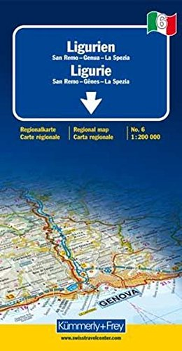 9783259013861: Liguria 6 k&f (r)