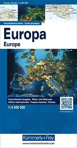 Europa, physische Karte 1: 5 000 000, plano (9783259014264) by [???]
