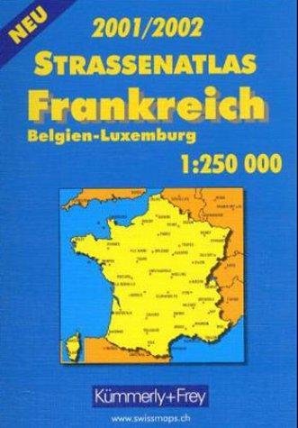 9783259015919: France Road Atlas (Road Atlases)
