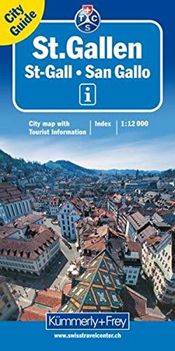 9783259020852: ST GALLEN CITY MAP KRT