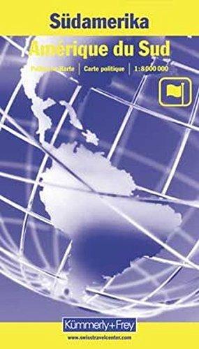 9783259042533: Carte routière : Amérique du Sud